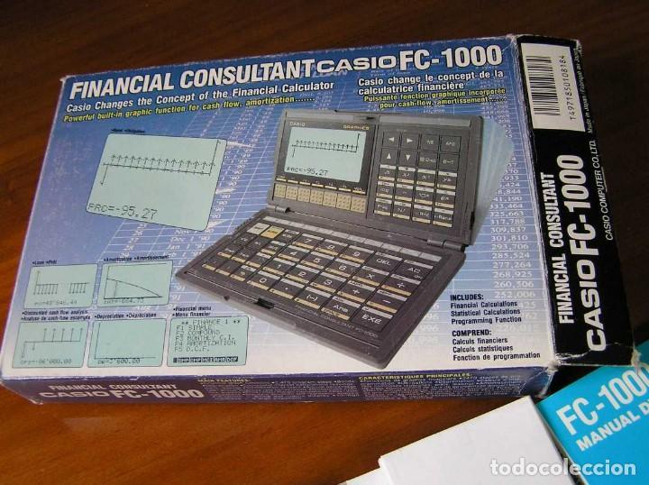 Segunda Mano: CALCULADORA FINANCIERA ANTIGUA CASIO FC-1000 FC1000 FUNCIONANDO FINANCIAL CONSULTANT FC 1000 - Foto 48 - 173508574