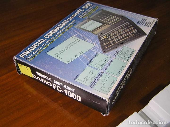 Segunda Mano: CALCULADORA FINANCIERA ANTIGUA CASIO FC-1000 FC1000 FUNCIONANDO FINANCIAL CONSULTANT FC 1000 - Foto 49 - 173508574