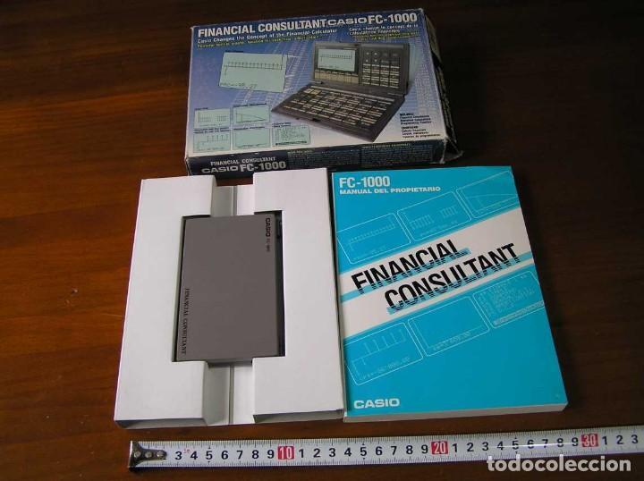 Segunda Mano: CALCULADORA FINANCIERA ANTIGUA CASIO FC-1000 FC1000 FUNCIONANDO FINANCIAL CONSULTANT FC 1000 - Foto 50 - 173508574