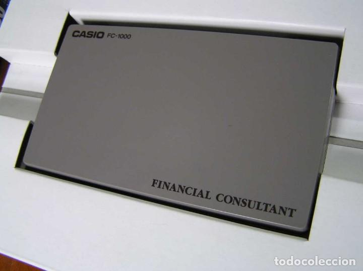 Segunda Mano: CALCULADORA FINANCIERA ANTIGUA CASIO FC-1000 FC1000 FUNCIONANDO FINANCIAL CONSULTANT FC 1000 - Foto 52 - 173508574