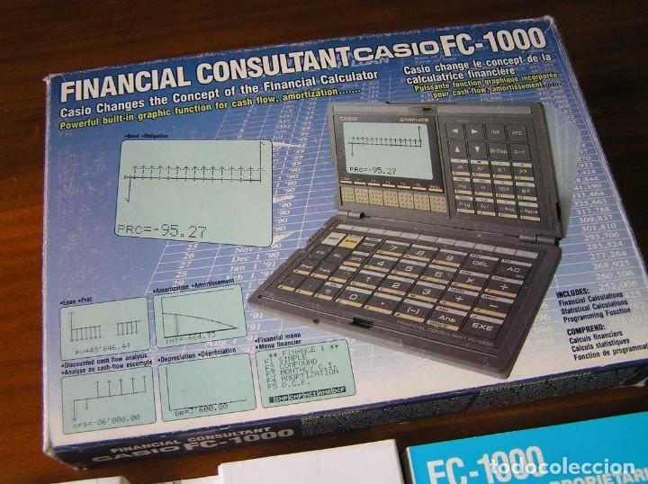 Segunda Mano: CALCULADORA FINANCIERA ANTIGUA CASIO FC-1000 FC1000 FUNCIONANDO FINANCIAL CONSULTANT FC 1000 - Foto 54 - 173508574