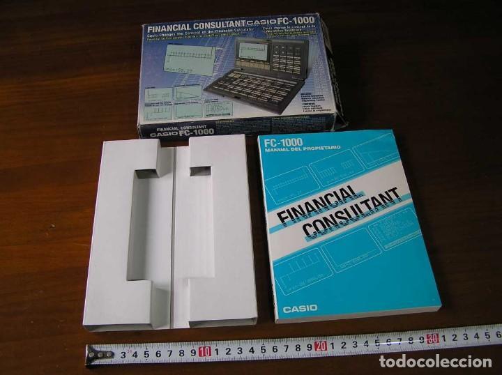 Segunda Mano: CALCULADORA FINANCIERA ANTIGUA CASIO FC-1000 FC1000 FUNCIONANDO FINANCIAL CONSULTANT FC 1000 - Foto 55 - 173508574