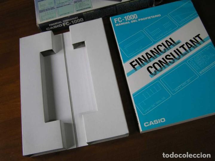 Segunda Mano: CALCULADORA FINANCIERA ANTIGUA CASIO FC-1000 FC1000 FUNCIONANDO FINANCIAL CONSULTANT FC 1000 - Foto 56 - 173508574