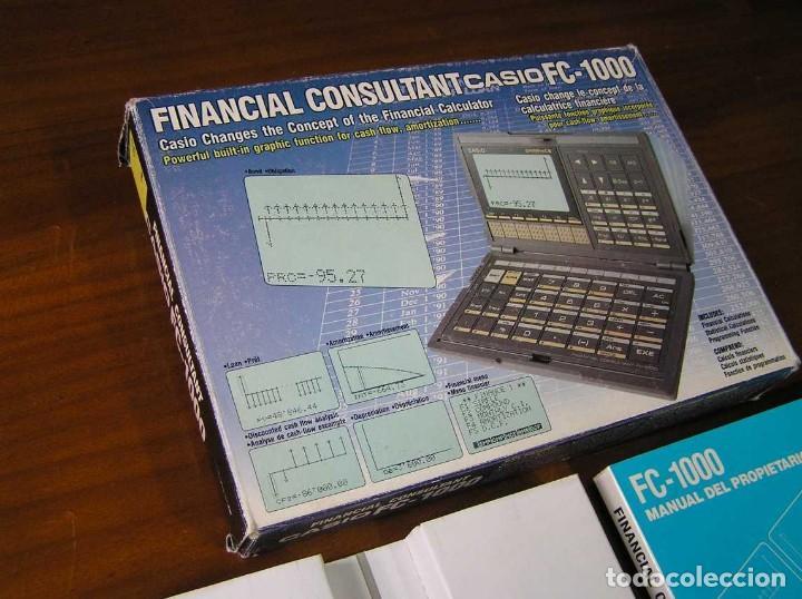 Segunda Mano: CALCULADORA FINANCIERA ANTIGUA CASIO FC-1000 FC1000 FUNCIONANDO FINANCIAL CONSULTANT FC 1000 - Foto 57 - 173508574