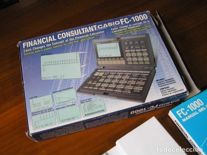 Segunda Mano: CALCULADORA FINANCIERA ANTIGUA CASIO FC-1000 FC1000 FUNCIONANDO FINANCIAL CONSULTANT FC 1000 - Foto 2 - 173508574