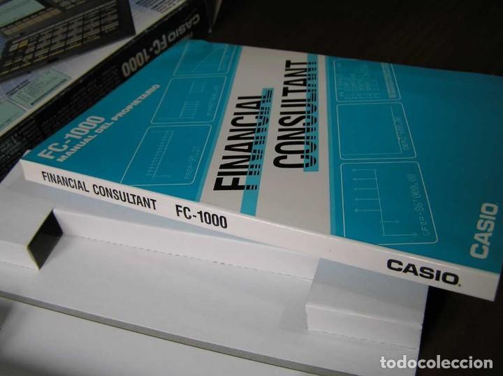 Segunda Mano: CALCULADORA FINANCIERA ANTIGUA CASIO FC-1000 FC1000 FUNCIONANDO FINANCIAL CONSULTANT FC 1000 - Foto 5 - 173508574