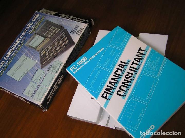 Segunda Mano: CALCULADORA FINANCIERA ANTIGUA CASIO FC-1000 FC1000 FUNCIONANDO FINANCIAL CONSULTANT FC 1000 - Foto 6 - 173508574