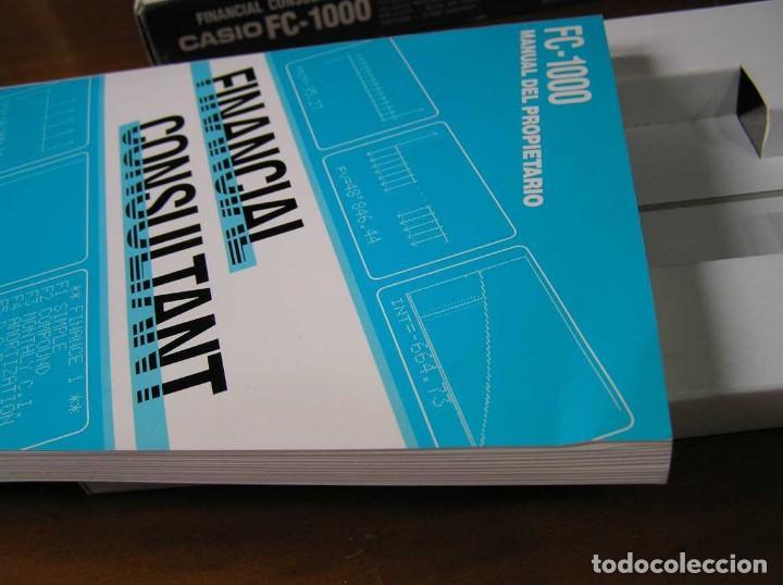 Segunda Mano: CALCULADORA FINANCIERA ANTIGUA CASIO FC-1000 FC1000 FUNCIONANDO FINANCIAL CONSULTANT FC 1000 - Foto 8 - 173508574