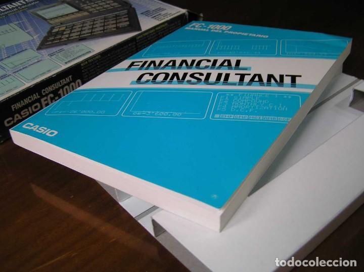 Segunda Mano: CALCULADORA FINANCIERA ANTIGUA CASIO FC-1000 FC1000 FUNCIONANDO FINANCIAL CONSULTANT FC 1000 - Foto 11 - 173508574