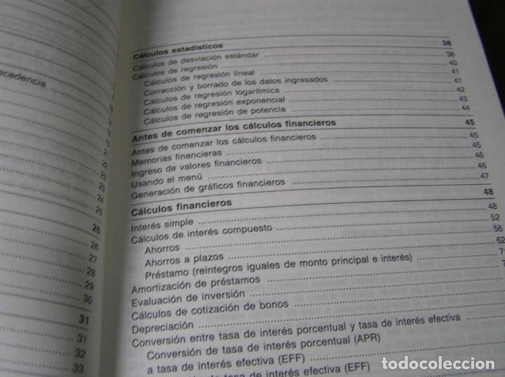 Segunda Mano: CALCULADORA FINANCIERA ANTIGUA CASIO FC-1000 FC1000 FUNCIONANDO FINANCIAL CONSULTANT FC 1000 - Foto 16 - 173508574