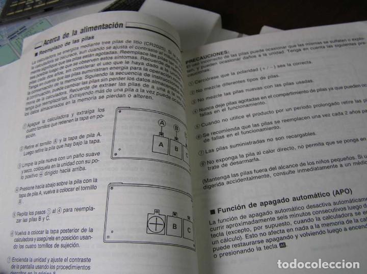 Segunda Mano: CALCULADORA FINANCIERA ANTIGUA CASIO FC-1000 FC1000 FUNCIONANDO FINANCIAL CONSULTANT FC 1000 - Foto 18 - 173508574