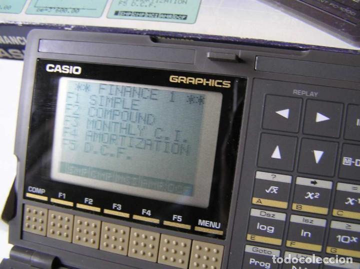 Segunda Mano: CALCULADORA FINANCIERA ANTIGUA CASIO FC-1000 FC1000 FUNCIONANDO FINANCIAL CONSULTANT FC 1000 - Foto 20 - 173508574