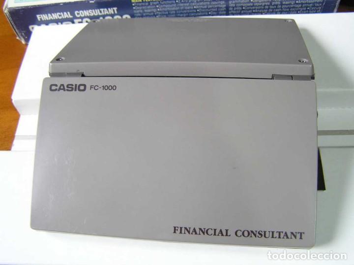 Segunda Mano: CALCULADORA FINANCIERA ANTIGUA CASIO FC-1000 FC1000 FUNCIONANDO FINANCIAL CONSULTANT FC 1000 - Foto 22 - 173508574