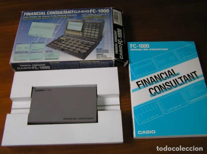Segunda Mano: CALCULADORA FINANCIERA ANTIGUA CASIO FC-1000 FC1000 FUNCIONANDO FINANCIAL CONSULTANT FC 1000 - Foto 24 - 173508574