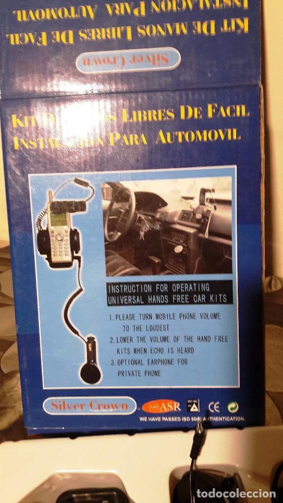 Segunda Mano: KIT DE MANOS LIBRES AUTOMOVIL - SILVER CROWN - AÑOS 90 - Foto 2 - 114643051