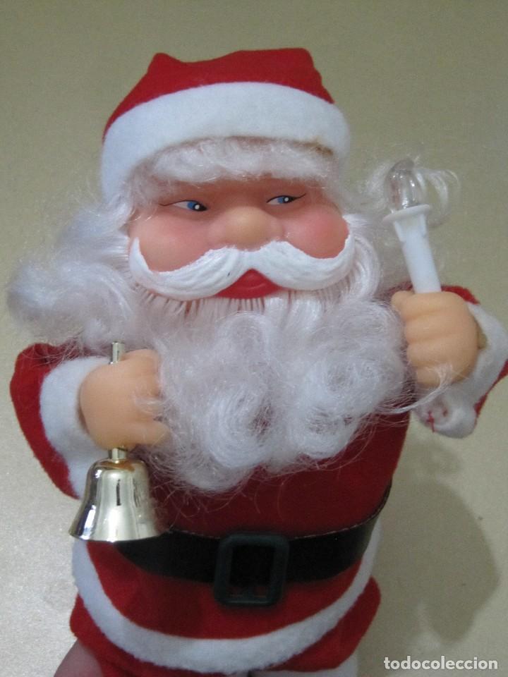 Imagenes De Papanoel En Movimiento.Papa Noel Santa Claus Muneco Musical Y Con Movimiento Altura 25 5 Cm Aprox Funciona Con Pilas