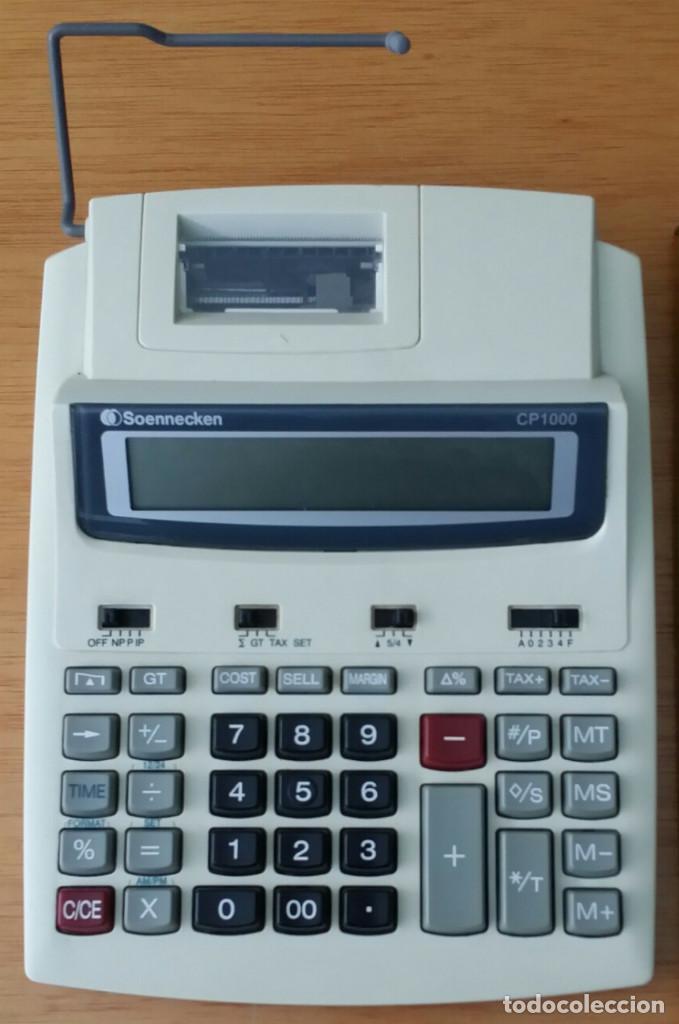 CALCULADORA - SOENNECKEN CP 1000 (Segunda Mano - Artículos de electrónica)