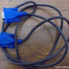 Segunda Mano: CABLE CONEXIÓN VGA A VGA. TIENE UNA LONGITUD DE 1,40CM. POCO USO. Lote 115022899