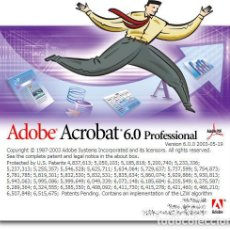Segunda Mano: ADOBE ACROBAT 6.0 PROFESSIONAL. ORIGINAL. Lote 171832713