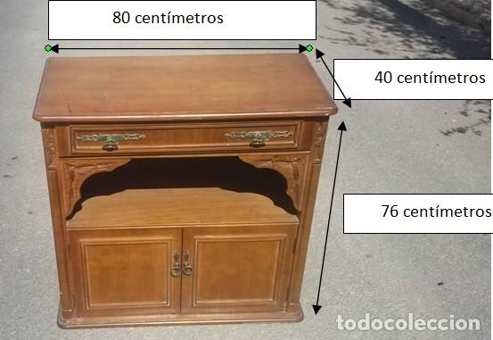 mueble para tv de madera - Comprar en todocoleccion - 115328619