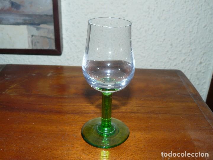 Segunda Mano: CINCO COPAS EN CRISTAL BICOLOR - Foto 3 - 115593863