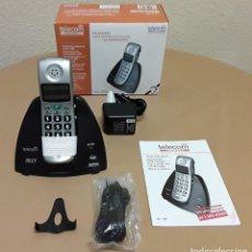 Segunda Mano: MAGNÍFICO TELÉFONO INALÁMBRICO DIGITAL DE TELECOM PARA LIMITACIONES AUDITIVAS-SORDERA. NUEVO!!. Lote 115946967