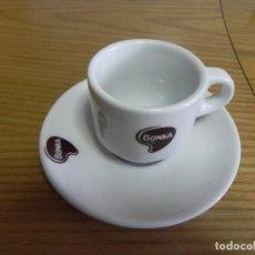 Segunda Mano: TAZA LOZA CAFE BAR - NUEVA - BONKA - CAFE SOLO - CUP & SAUCER - BONKA. Lote 138958010