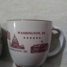 Segunda Mano: DOS TAZAS DE WASHINGTON D. C.. Lote 117235895