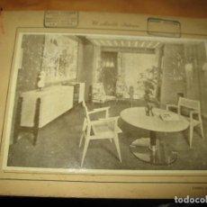 Segunda Mano: FOTOGRAFIA ANTIGUA EL MUEBLE ITALIANO VINTAGE ART DECO. Lote 117451947