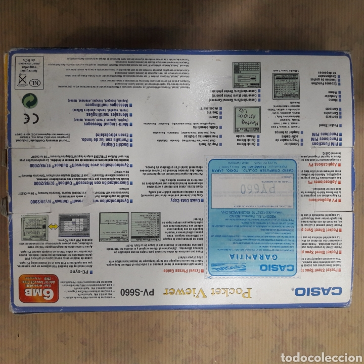 Segunda Mano: CASIO POCKET VIEWER PV S 660 6 MB - Foto 2 - 117767972