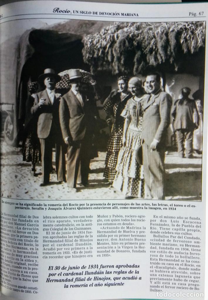 Segunda Mano: ROCÍO, UN SIGLO DE DEVOCIÓN MARIANA, COLECCIONABLE DE ABC, COMPLETO Y ENCUADERNADO - Foto 2 - 118000943