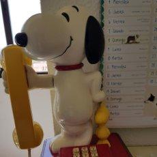 Segunda Mano: TELÉFONO DE SNOOPY Y EMILIO, EL PÁJARO. PERFECTO FUNCIONAMIENTO. 1976 AMERICAN TELECOMMUNICATIONS CO. Lote 118354219