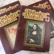 Segunda Mano: 4 LIBROS O VOLUMEN DEL CURSO PRACTICO DE DIBUJO Y PINTURA EDICIONES L NUEVA LENTE. Lote 118589203