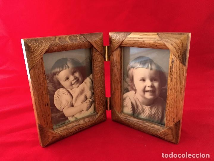 marco de madera doble ventana, para fotografias - Comprar artículos ...