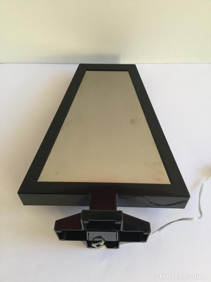 Segunda Mano: Lampara espejo infinito de Habitat efecto profundidad ,contemporánea con leeds y forma de abeto - Foto 3 - 119374439