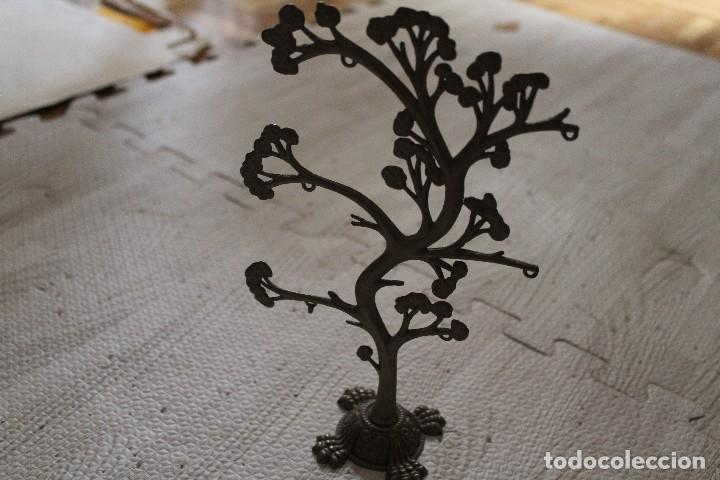 ÁRBOL JOYERO, ORGANIZADOR DE JOYAS DE METAL (Segunda Mano - Hogar y decoración)
