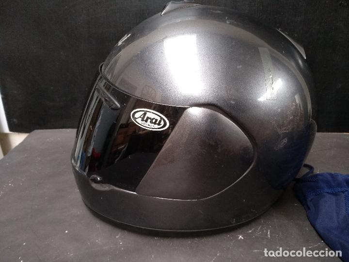 Segunda Mano: LOTE DE DOS, CASCO DE MOTO, VISERA Y ALGUNOS ACCESORIOS MOTOCICLISTA, AGV ARAI - Foto 13 - 119878243