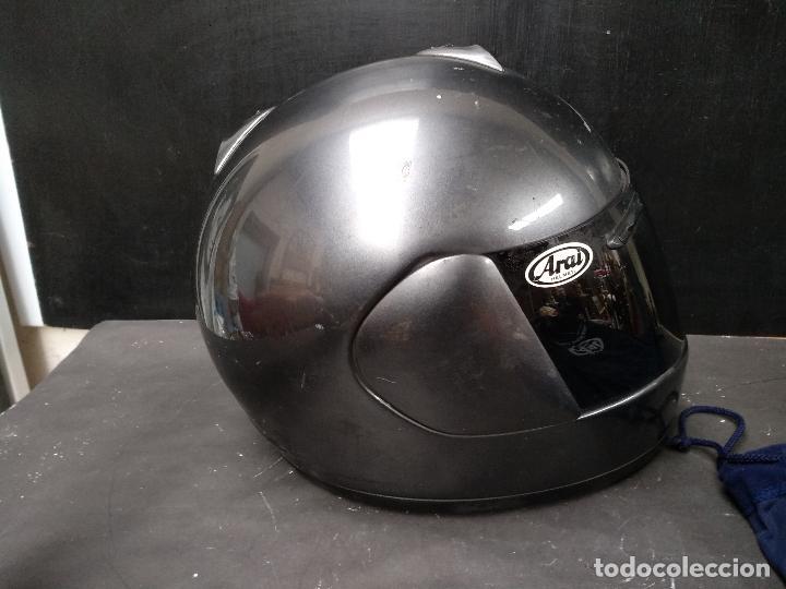 Segunda Mano: LOTE DE DOS, CASCO DE MOTO, VISERA Y ALGUNOS ACCESORIOS MOTOCICLISTA, AGV ARAI - Foto 16 - 119878243