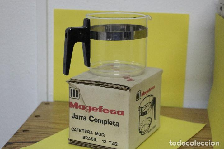 JARRA COMPLETA DE CAFETERA MAGEFESA MOD BRASIL 12 TAZAS (Segunda Mano - Hogar y decoración)