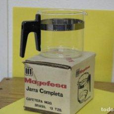 Segunda Mano: JARRA COMPLETA DE CAFETERA MAGEFESA MOD BRASIL 12 TAZAS. Lote 119889911
