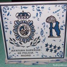 Segunda Mano: CERÁMICA DEL CUERPO NACIONAL DE POLICÍA.. Lote 120065283