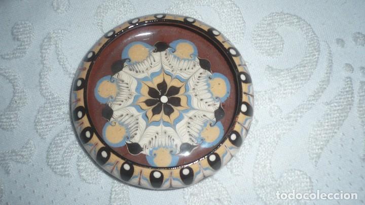 PLATO DE CERÁMICA PINTADO (Segunda Mano - Hogar y decoración)