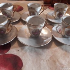 Segunda Mano: 6 TAZAS DE CAFÉ. PORCELANA.. Lote 120564187