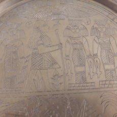 Segunda Mano: PLATO METÁLICO EGIPTO.. Lote 120562251