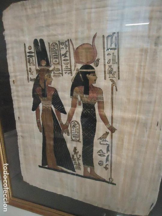 Segunda Mano: cuadro egipcio - Foto 2 - 120756895