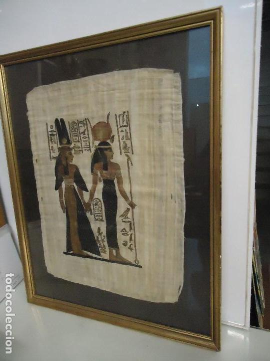 CUADRO EGIPCIO (Segunda Mano - Hogar y decoración)