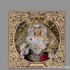 Segunda Mano: AZULEJO 10X10 DE LA VIRGEN DEL AMOR (HERMANDAD DE LAS TRES CAIDAS DE HUELVA). Lote 121971654