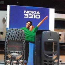 Segunda Mano: TELEFONO MOVIL NOKIA MOD: 3310 CON CARGADOR. 3 CARCASAS PEPEOTROS. Lote 122607279