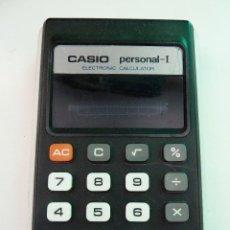 Segunda Mano: CALCULADORA CASIO PERSONAL-I. Lote 122994335