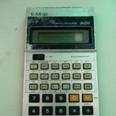 Segunda Mano: CALCULADORA CASIO FX-250. Lote 123190687